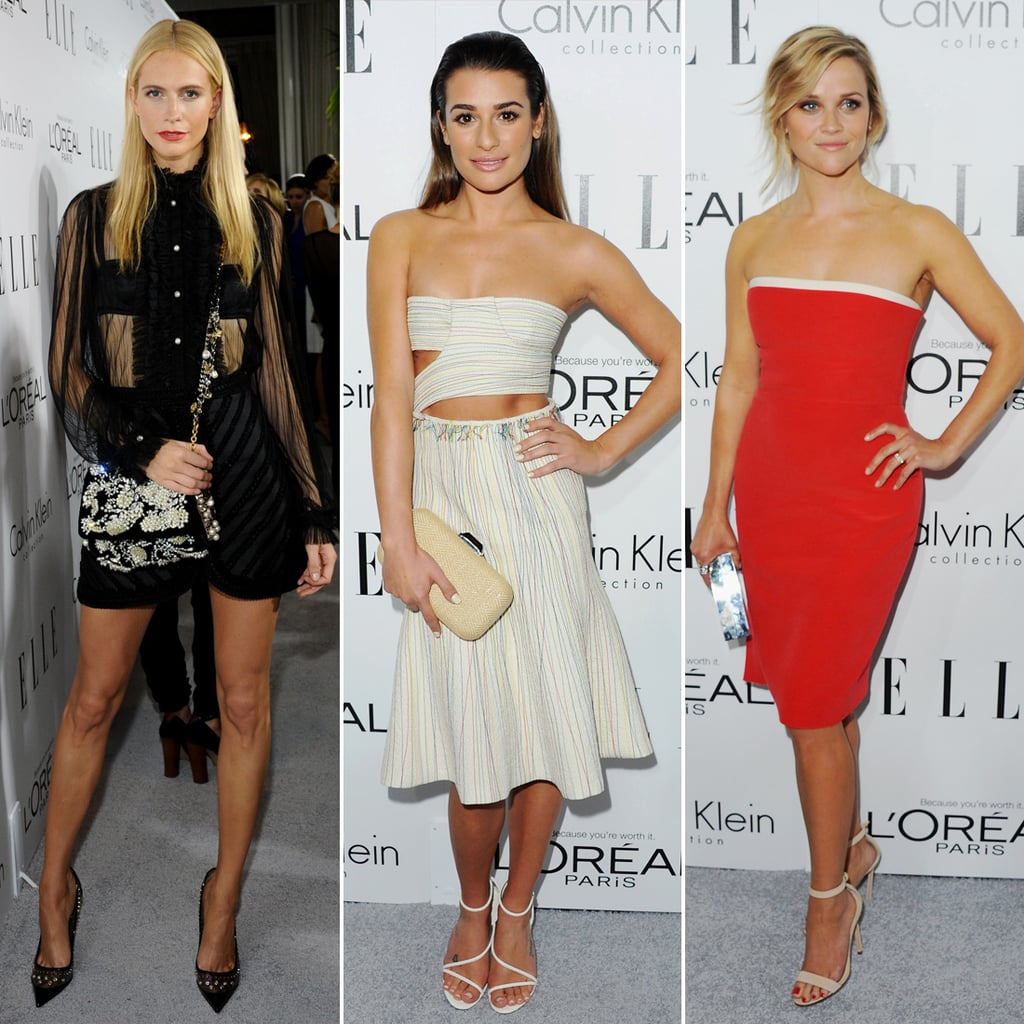 Fashion at Elle 20th Women in Hollywood Event