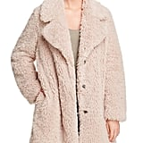 Sage Collective Faux Fur Teddy Coat