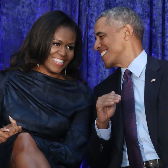 Barack and Michelle Obama Dancing at Beyoncé JAY-Z Concert