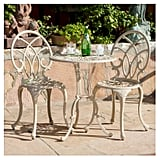 Anacapa 3pc Cast Aluminium Patio Bistro Set