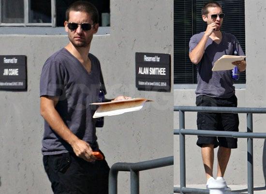 Photos of Tobey Maguire in Santa Monica