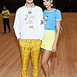 Photos of Dua Lipa and Anwar Hadid at New York Fashion Week