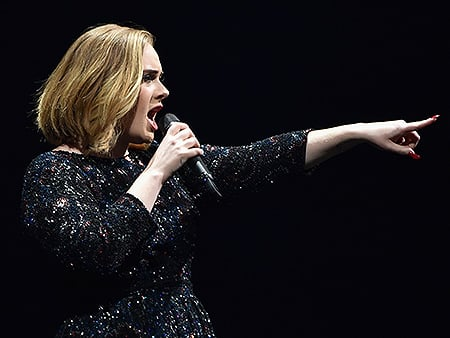 WATCH: Adele Dedicates Her N.Y.C. Concert to Angelina Jolie and Brad Pitt: 'It's the End of an Era'