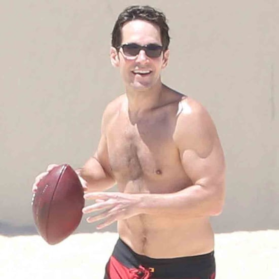 Paul Rudd Shirtless 2014