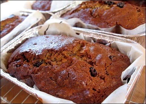 Yummy Link: Bourbon-Persimmon Loaves