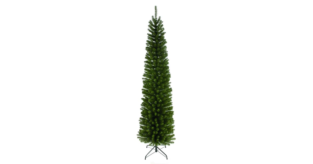 Wilko Festive 6.5 Foot Glenmore Pine Slim Christmas Tree