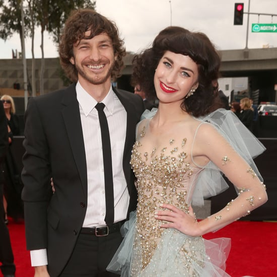 Gotye and Kimbra Red Carpet Pictures at 2013 Grammys