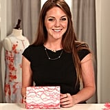 DIY: Punch Up a Neutral Clutch With Neon Lace