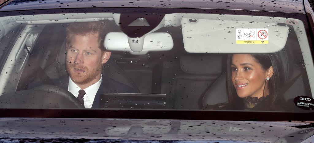 The royal fab four kicked off the holiday festivities as they attended Queen Elizabeth II's annual Christmas lunch at Buckingham Palace on Wednesday. Prince Harry and Meghan Markle, who attended their first Christmas lunch as a couple last year, were all smiles as they pulled up to the palace, while Prince William and Kate Middleton arrived separately with their kids, Prince George and Princess Charlotte, in tow.  This is certainly a special time for the couples. While Kate and Will's son, Prince Louis, will be celebrating his first Christmas this year, Harry and Meghan are expecting their own bundle of joy sometime next year. See more of their latest outing ahead!       Related:                                                                                                           12 British Royal Christmas Traditions That Will Surprise You