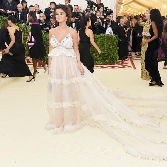 Selena Gomez Coach Dress Met Gala 2018