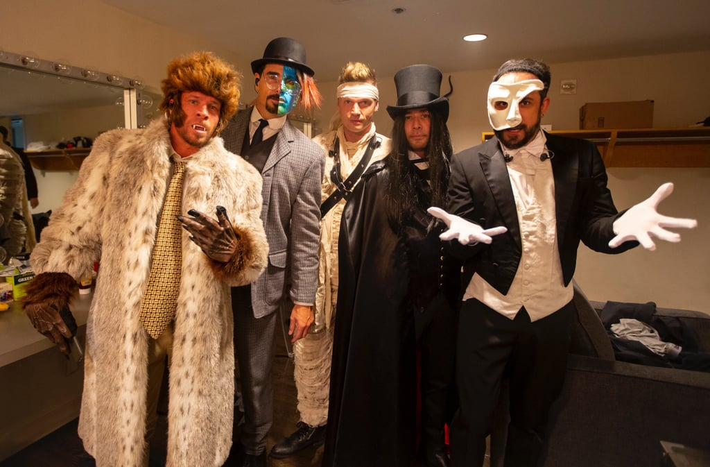 "In 1997, Backstreet Boys blew our teenage minds with their spooky ""Everybody (Backstreet's Back)"" music video, and on Halloween, they brought back those iconic looks. During their Las Vegas residency on Wednesday night, the boy band channeled their music video personas on stage. In addition to rocking their bodies right to the hit song, they also snapped a photo together backstage. A lot has changed over the years, but one thing is for sure: Backstreet Boys still got it goin' on. See how their latest appearance compares to their memorable music video ahead.       Related:                                                                                                           10 Backstreet Boys Videos That Will Always Be Larger Than Life"
