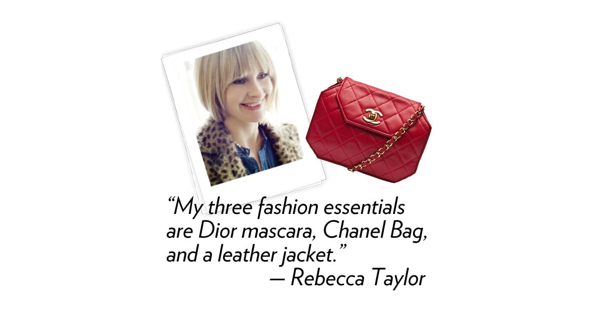 Rebecca Taylor Designer Three Words That Describe Your