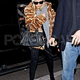 Nicole Richie headed out of town.
