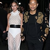 Chrissy Teigen and John Legend Out in NYC November 2016
