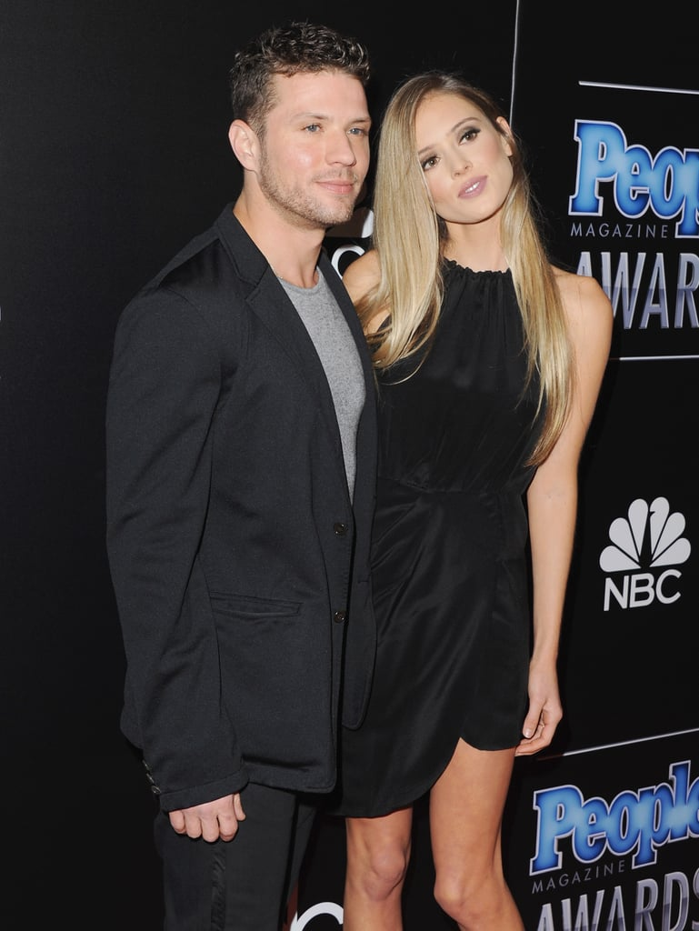 Ryan Phillippe and Paulina Slagter