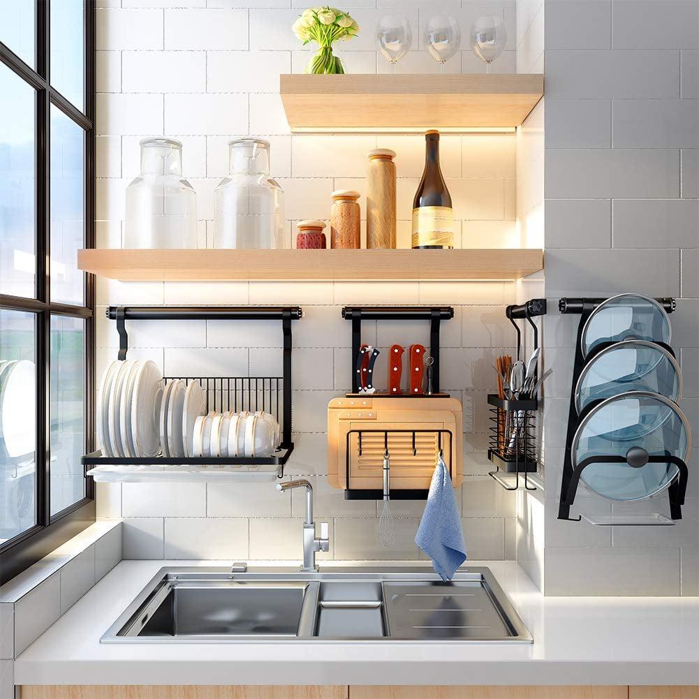 Eastore Life Wall Mounted Dish Rack Best Kitchen Wall Storage Organizers 2019 Popsugar Food Photo 40
