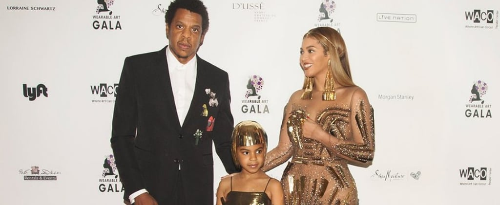 Beyoncé and JAY-Z Turn the 2018 Wearable Art Gala Into a Star-Studded Family Affair