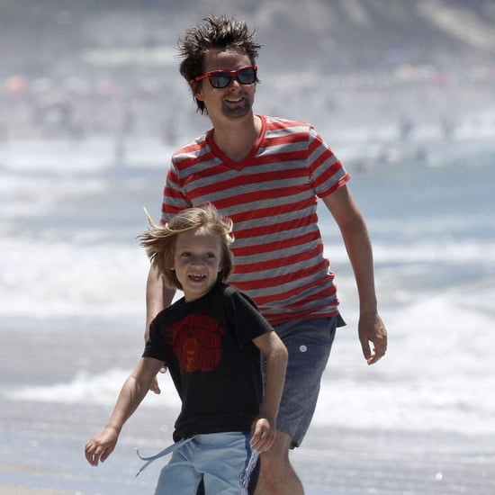 Matthew Bellamy and Ryder Robinson in Malibu