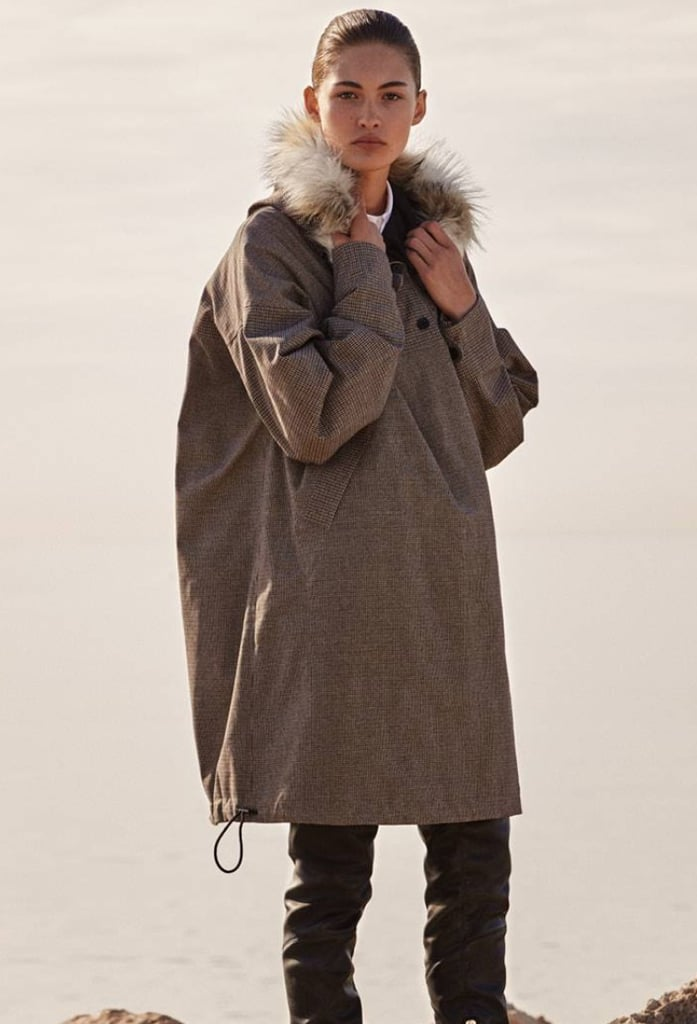 Long Anorak With Hood
