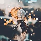Replace old lightbulbs.
