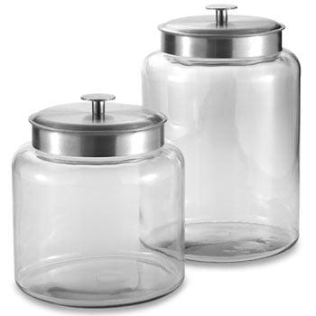 Good, Better, Best: Glass Display Jars