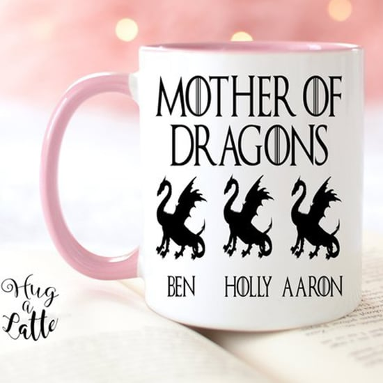 Personalized Game of Thrones Mother's Day Mugs on Etsy