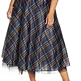 Halogen® x Atlantic-Pacific Full Organza Midi Skirt