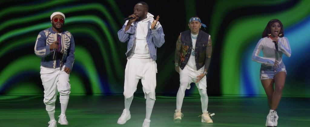 Watch the Black Eyed Peas's 2020 MTV VMAs Performance Video