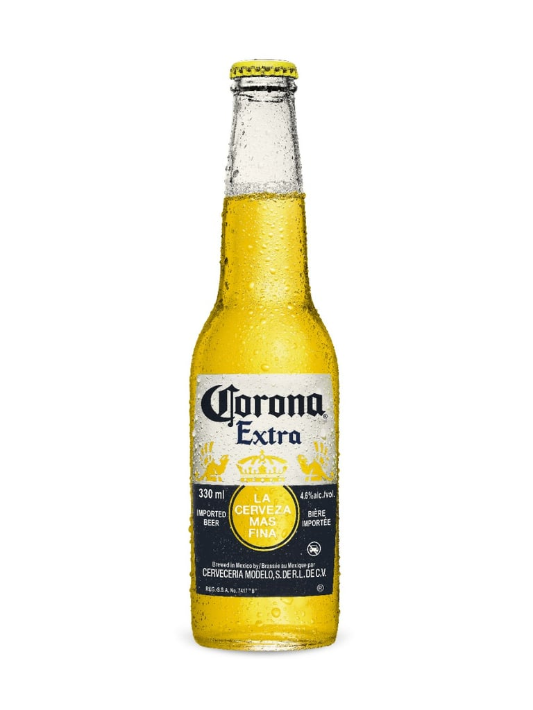 Corona commercial bottle as sex toy