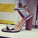 We also fell in love with these metallic heels from the Coach Spring 2014 collection.