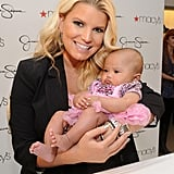 Jessica Simpson with an adorable baby.