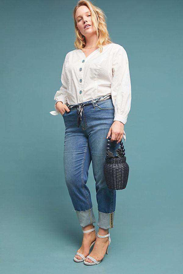 8edf4f0fa52 Pilcro High-Rise Slim Straight Jeans