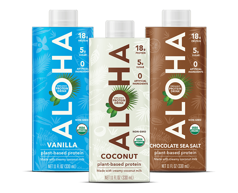 Aloha Plant-Based Protein Drink