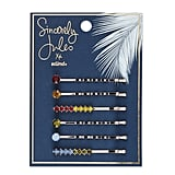 Sincerely Jules x Scunci Bobby Pin With Rainbow Stones 6-Pack