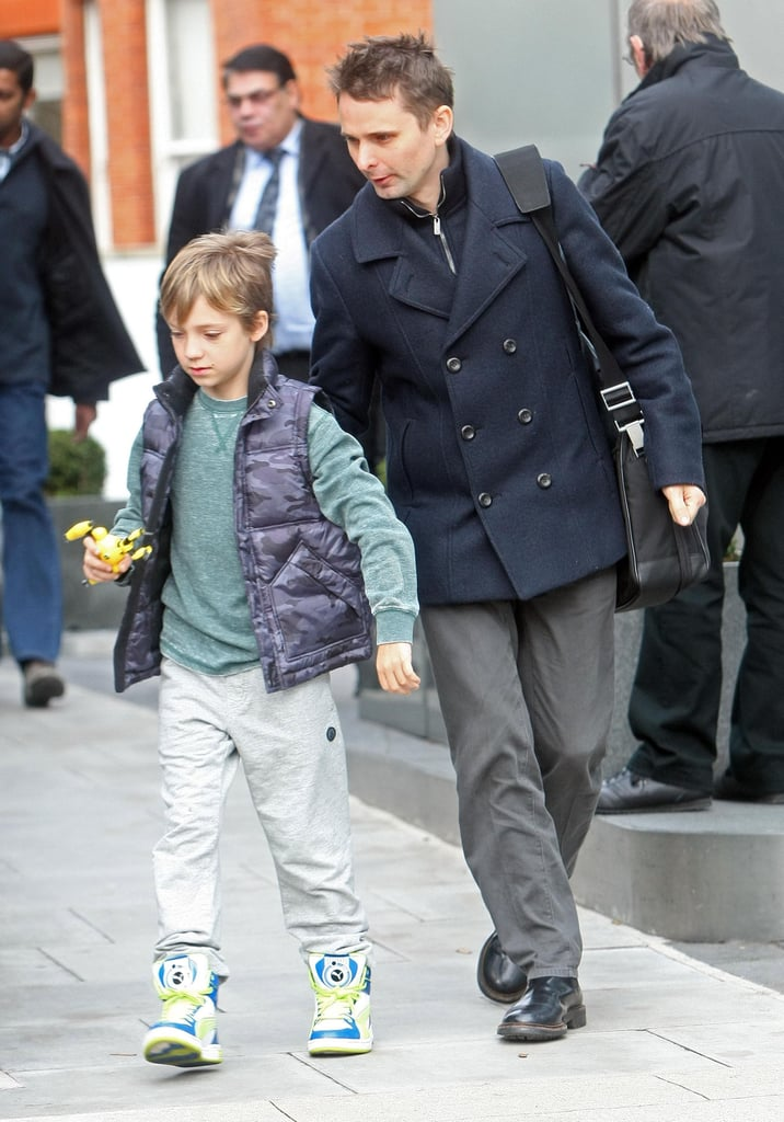 Kate Hudson S Son Ryder Walked With Matthew Bellamy In
