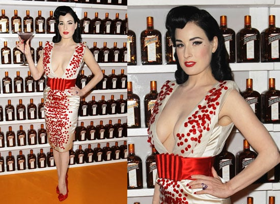 Dita Von Teese in Sydney for Be Cointreauversial