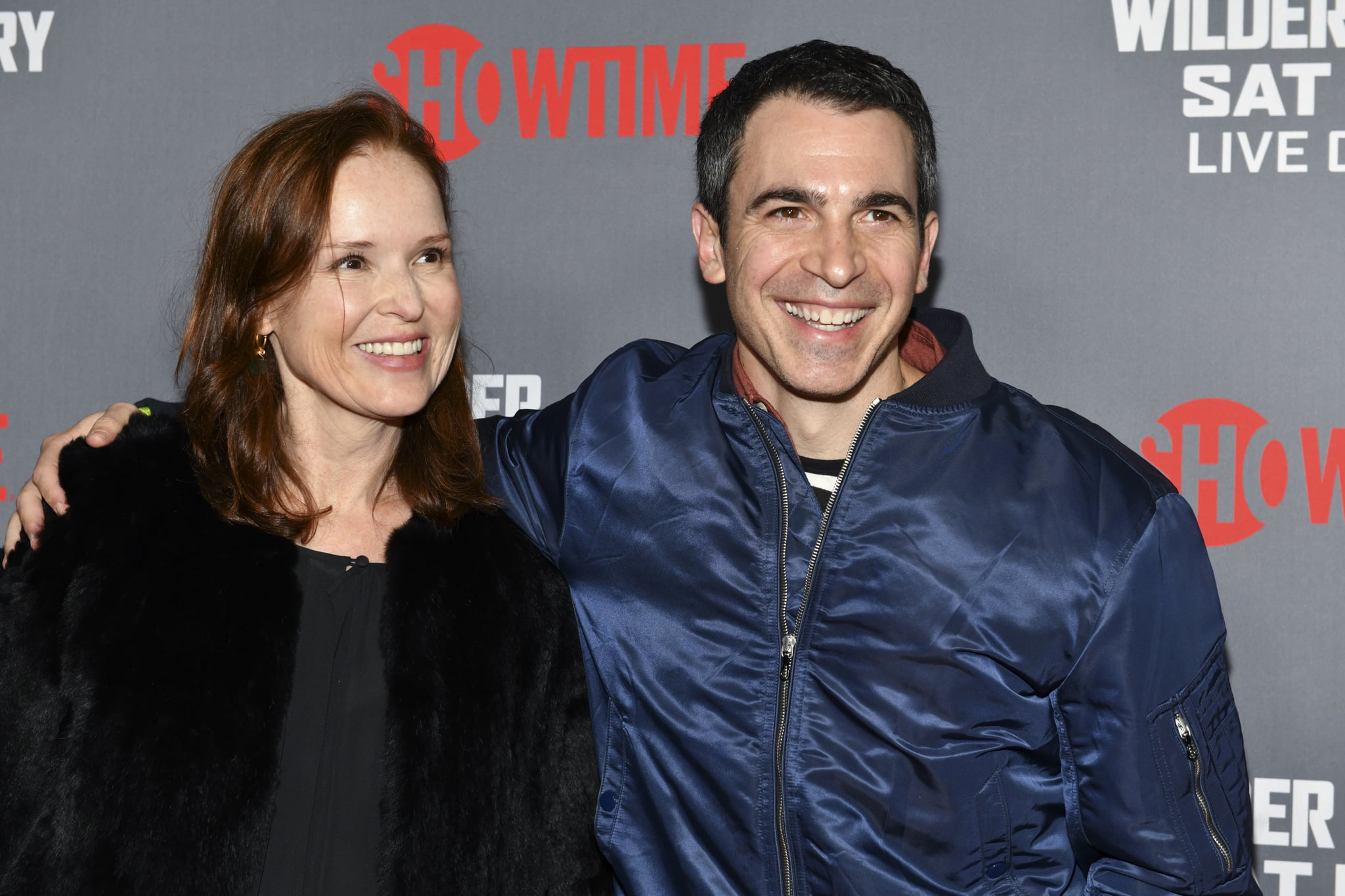 LOS ANGELES, CALIFORNIA - DECEMBER 01: (L-R) Jennifer Todd and Chris Messina attend the Heavyweight Championship of The World