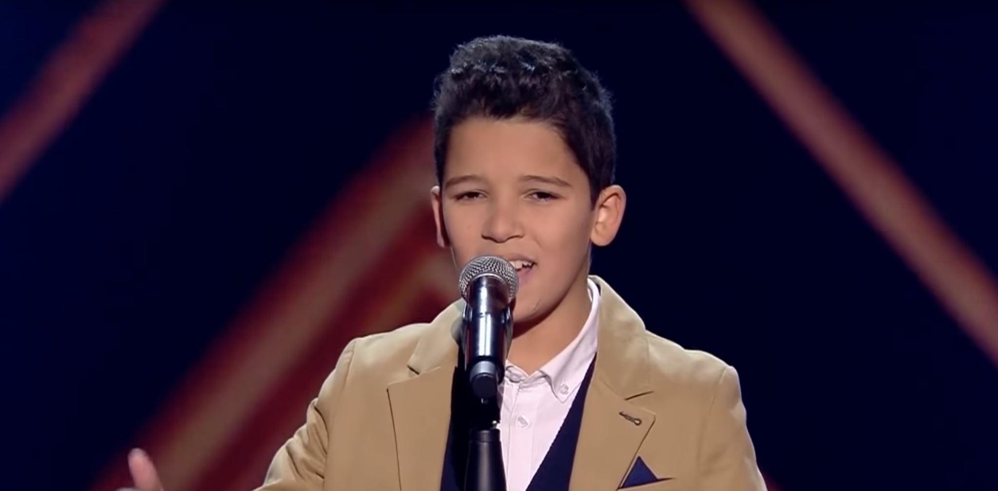 hamza lebyed the voice kids popsugar middle east love