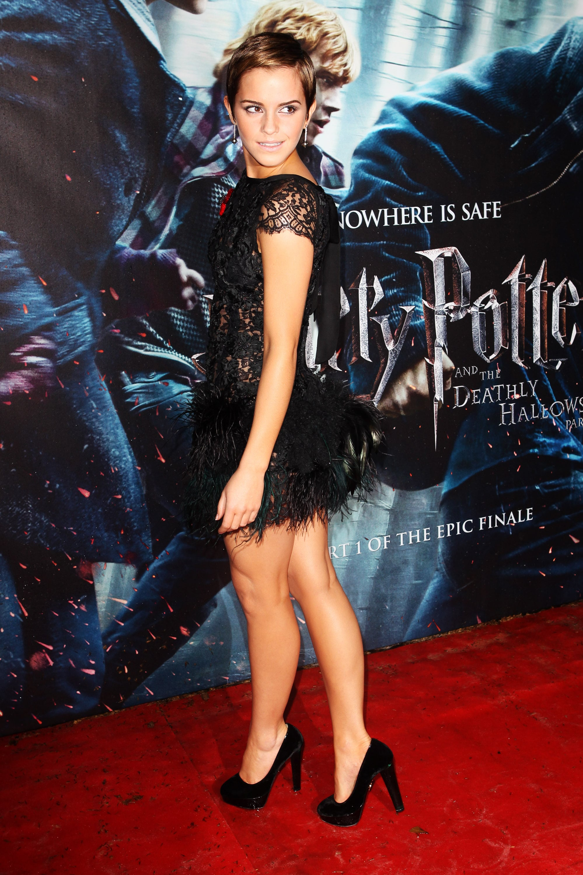 Emma Watson Harry Potter And The Deathly Hallows Part 2 Premiere Dress Pictures of Emma Watso...