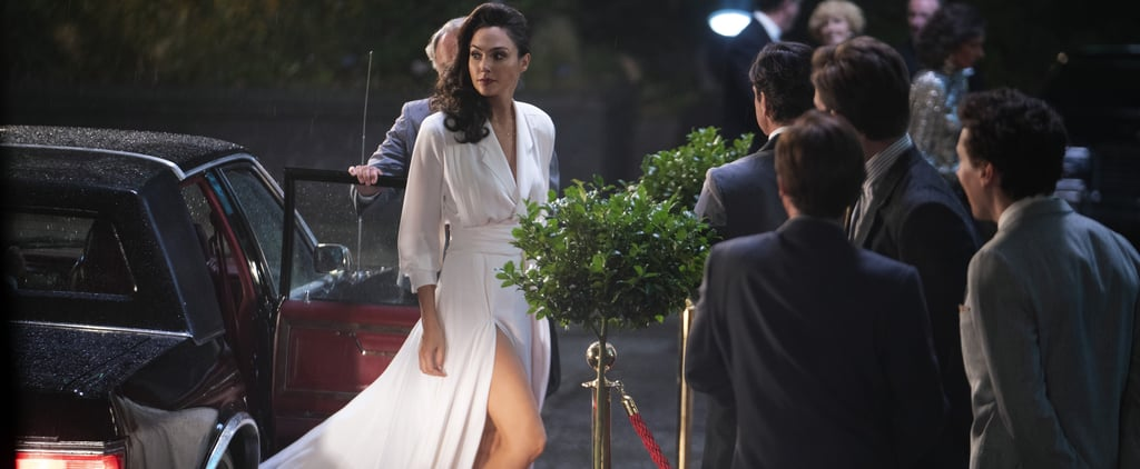 "Gal Gadot's White ""Goddess"" Dress in Wonder Woman 1984"