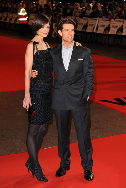 22/01/2009 Tom Cruise and Katie Holmes Valkyrie London Premiere