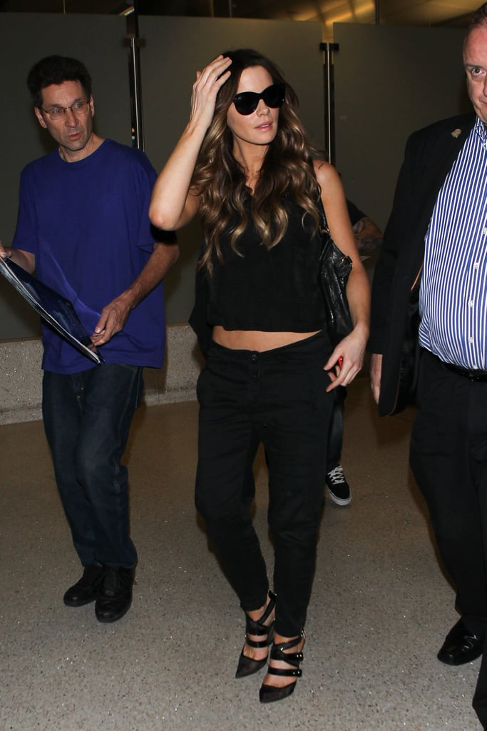 Kate Beckinsale's Airport Outfit