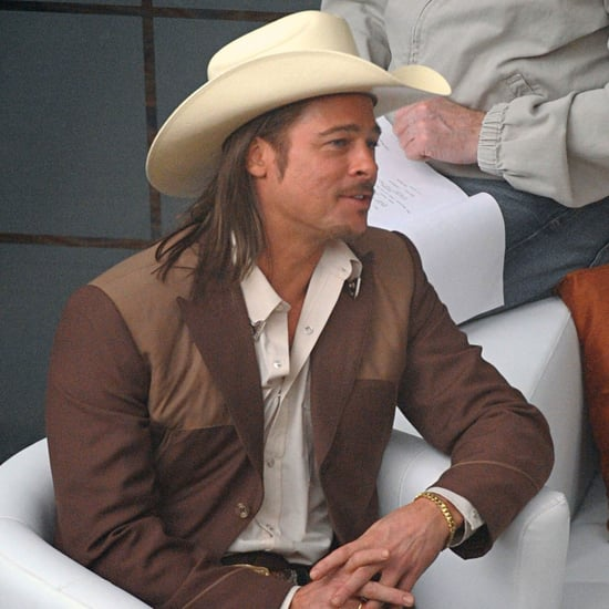 Brad Pitt Cowboy Costume in The Counselor