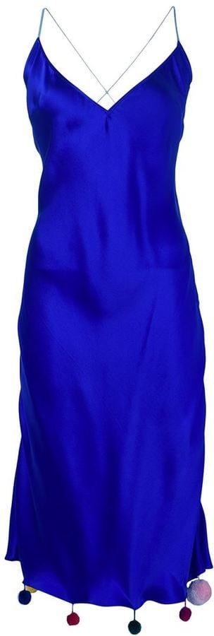 Natasha Zinko Pom Pom Hem Dress ($1,070)