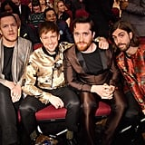 Pictured: Dan Reynolds, Ben McKee, Daniel Platzman, and Daniel Wayne Sermon of Imagine Dragons
