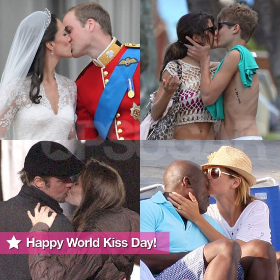 Pictures of Celebrities Kissing