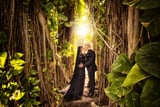 This Hauntingly Beautiful Wedding Will Give You Chills and Inspiration at the Same Time