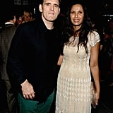 Matt Dillon mingled at the afterparty with Padma Lakshmi.