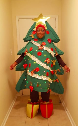 Christmas Tree Costume.You Can Also Buy The Christmas Tree Costume 71 On Amazon