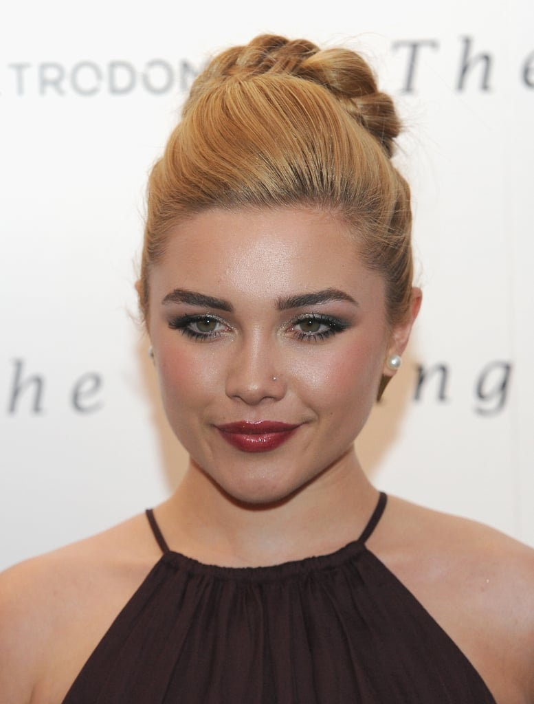 Florence Pugh's Bronzed Cheeks, 2015